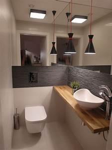Ideen Gäste Wc : bad g ste toilette modern wohnen hausbau wohnen ~ Michelbontemps.com Haus und Dekorationen