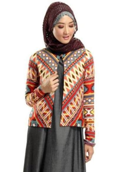 ide model baju batik remaja putri modern  membuatmu