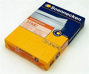 Kopierpapier Günstig Versandkostenfrei : soennecken kopierpapier star g nstig kaufen papersmart ~ Pilothousefishingboats.com Haus und Dekorationen