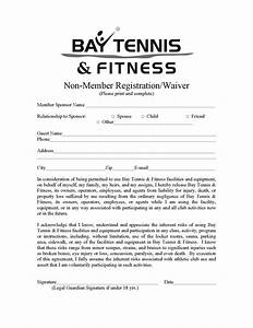 gym waiver form gym zen With fitness waiver and release form template