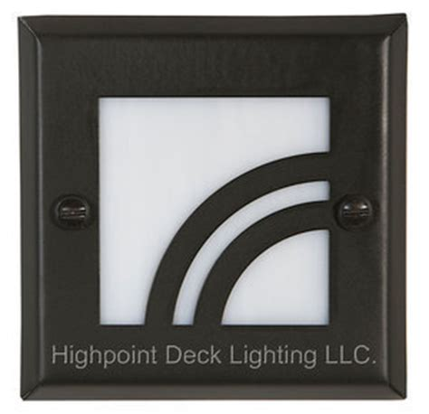 Home Depot Recessed Deck Lighting by Highpoint Apex Step Light Kit