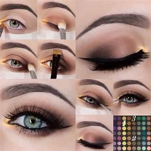 Maquillage Yeux Tuto : maquillage des yeux tuto russenko ~ Nature-et-papiers.com Idées de Décoration