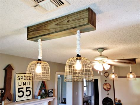 make your own light fixtures hometalk