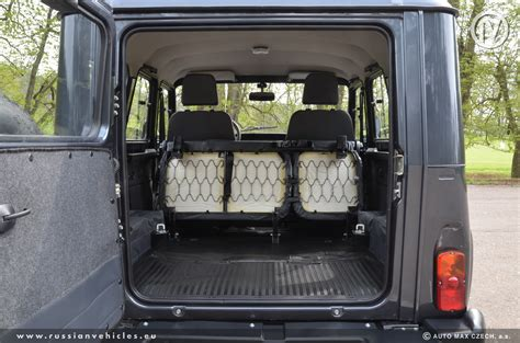 uaz hunter interior skladové vozy made in russia