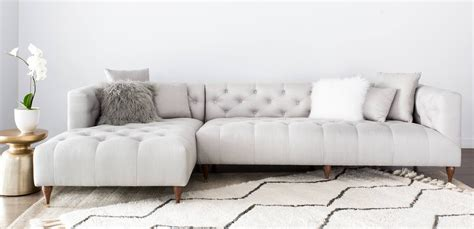 Apartment Therapy Sectional Sofa by Interior Define Ms Chesterfield Maxwell Shopping