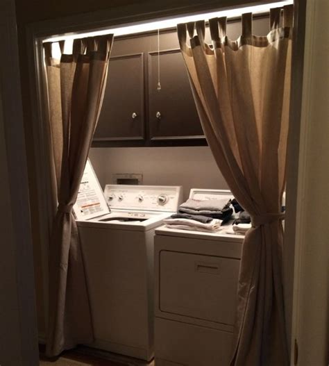 Laundry Room Curtains Ideas For Beauty And Comfort
