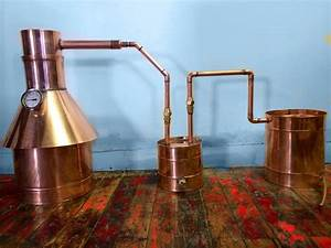 4 Gallon Copper Moonshine  Liquor Still