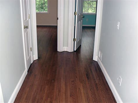 Restaining Hardwood Floors Darker Without Sanding by Refinishing Hardwood Floors Cost Captivating My Diy