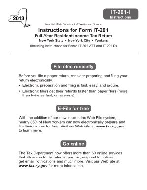 form it 272 2013 form ny it 201 i fill online printable fillable