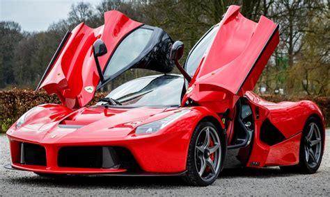 Ferrari Doors Up & Lamborghini Aventador Front Doors Open