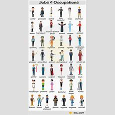 Jobs And Occupations Vocabulary In English  English Learn Site