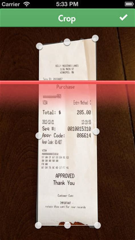 upload receipts  evernote  iphone apps iphoneness