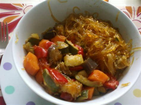 soja cuisine vermicelles de soja et ses petits légumes autres plats