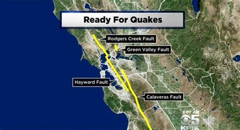 list   san francisco bay area faults ready  rupture
