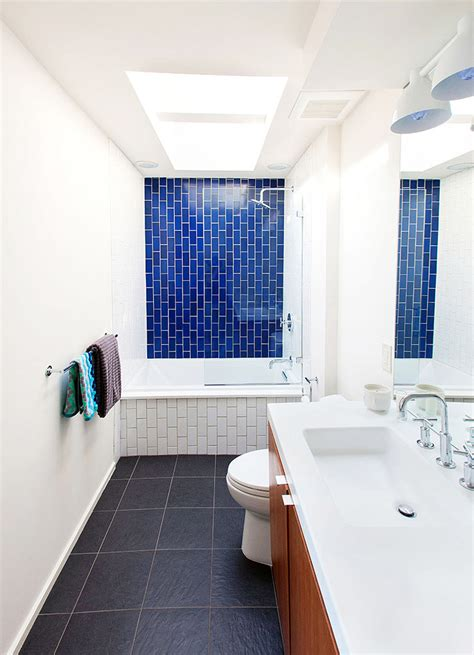 Modern Day Bathroom Colors by Before After A Dingy 1970s Bathroom Becomes Bright And