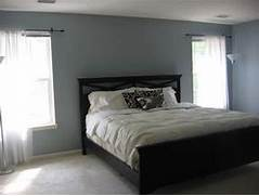 Gray And Blue Bedoom  Contemporary  Bedroom