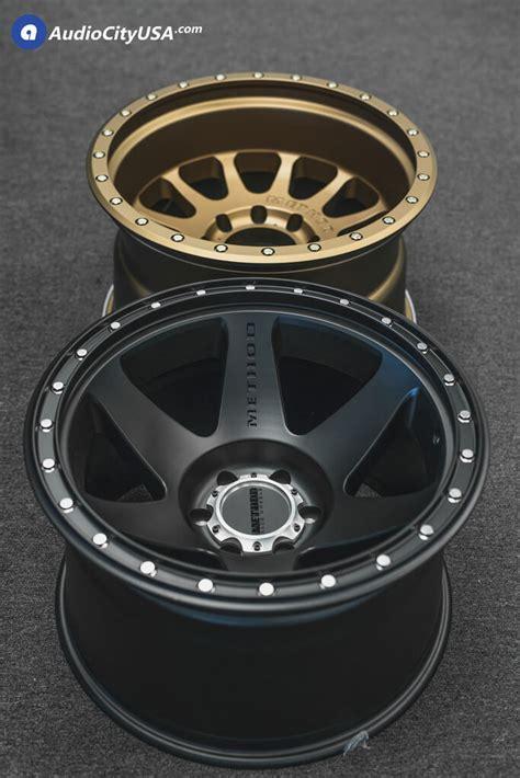 method wheels   satin black bronze