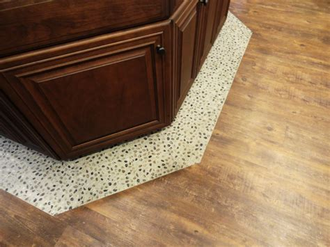 vinyl wood plank flooring Kitchen Beach with apothecary