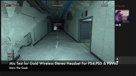 headset ps4 test mic test for gold wireless stereo headset for ps4