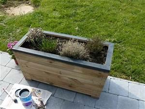 Bac En Bois Pour Plantes : conception et r alisation d 39 un bac en bois pour plantes ~ Dailycaller-alerts.com Idées de Décoration