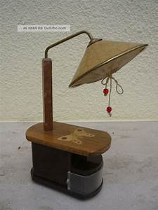 Tisch stehlampe mit schmetterling 30er jahre sehr gut for Tisch stehlampe