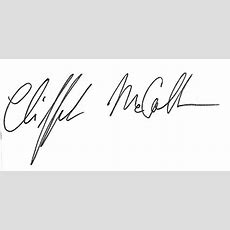 """The Cliff Rules The Mccollumn  831 """"what Has Happened To Cursive Writing?"""""""
