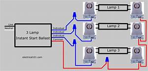Ge Electronic Ballast For T8 Wiring Emergency Ballast Wiring Diagram 3 Lamp T8 Ballast Wiring