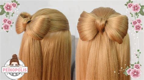 peinados  lazo trenzas  ninas  cabello largo faciles  rapidos youtube