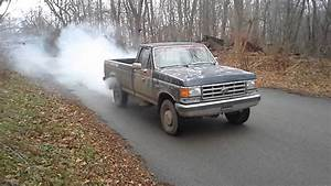 1988 Ford F-250 Burnout