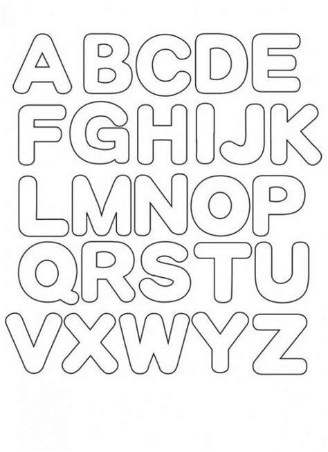Abecedario: imágenes del Alfabeto para imprimir Letras