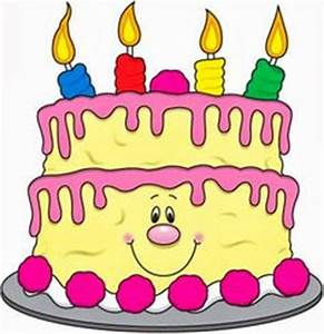 4th Birthday Cake Clipart (20+)