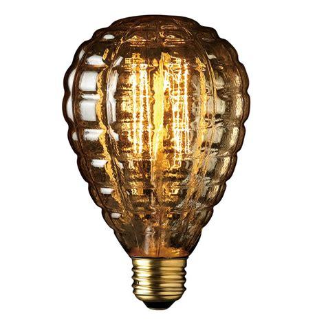 home depot edison lights globe electric 40w amber designer vintage edison granada