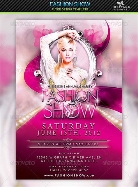 Show Template by Graphicriver Fashion Show Flyer Template