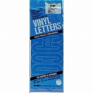 dural decal vinyl letters 6quot gothic black walmartcom With where to buy vinyl letters