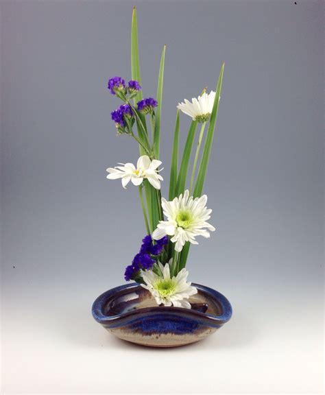 Flower Arranging Vases by Ikebana Vase Flower Tray Flower Dish Handmade Stoneware