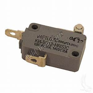 Ezgo Golf Cart 2 Terminal Micro Switch