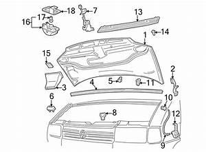 1999 Volkswagen Eurovan Hood Latch  Lock  Replace  Switch