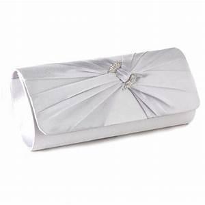Pochette Tissu Femme : sac a main pochette portefeuille type baguette rabat en tissu satin portefeuille femme ~ Teatrodelosmanantiales.com Idées de Décoration