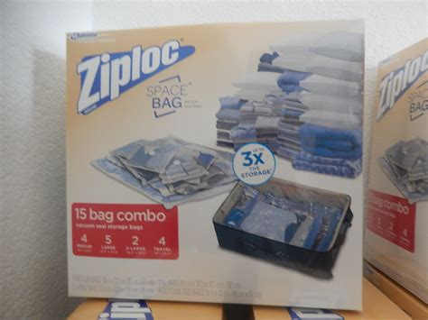 ziploc vaccum bags ziploc 15 space saver vacuum seal roll up space bags