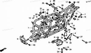 Honda Atv 1988 Oem Parts Diagram For Frame