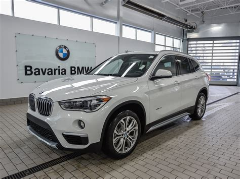 bmw x1 2018 preis new 2018 bmw x1 xdrive28i crossover in edmonton 18x12241 bavaria bmw