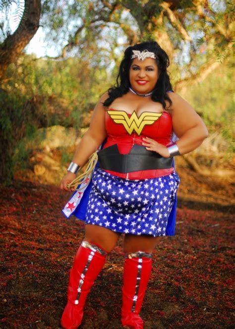 Plus Size Wonder Woman We Exist Diy Cosplay