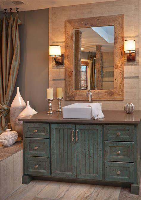 bathroom cabinets designs 34 rustic bathroom vanities and cabinets for a cozy touch