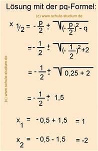 Nullstellen Berechnen Pq Formel : quadratische erg nzung bei funktionen 2 grades ~ Themetempest.com Abrechnung