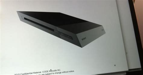 ps4 pics at home ps4 slim photos leaked Gallery