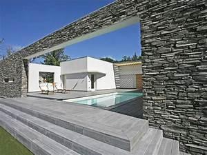 Pierre Parement Extérieur : pierre de parement habillage mur ext rieur paris sacaro ~ Nature-et-papiers.com Idées de Décoration