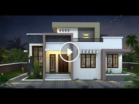 house plans  august  youtube small house exteriors kerala house design