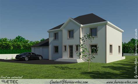 plan maison 2 chambres maison traditionnelle fontaine française etec