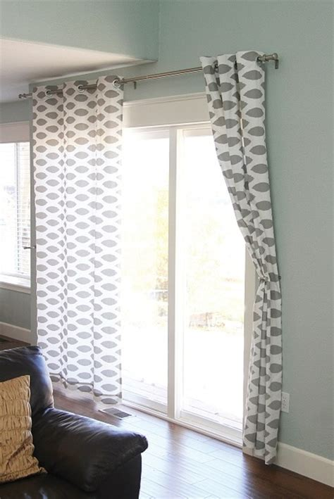 nosew grommet curtains free pattern craftfoxes