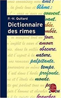 Dictionnaire Des Rimes (Ldp Dictionn.) (French Edition): P